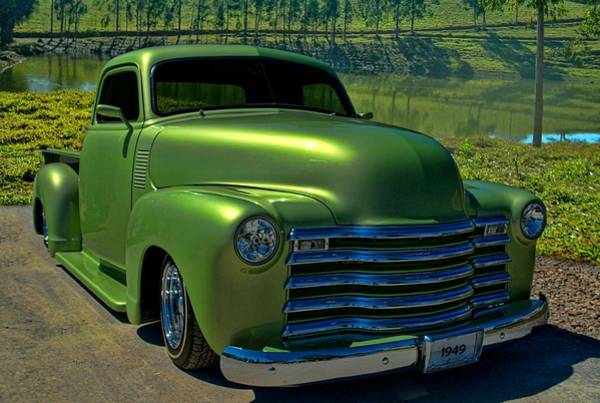 Photograph - 1949 Chevrolet Pickup by Tim McCullough