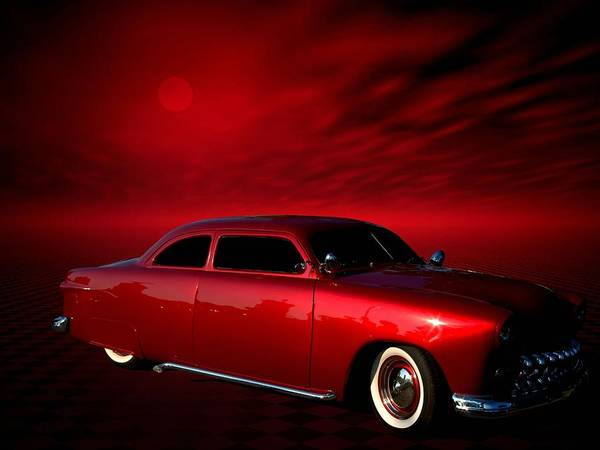Photograph - 1949 Ford Custom Street Rod by Tim McCullough
