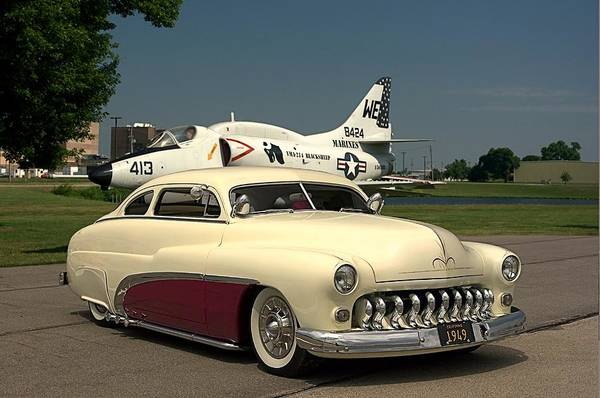 Photograph - 1949 Mercury Custom Low Rider by Tim McCullough