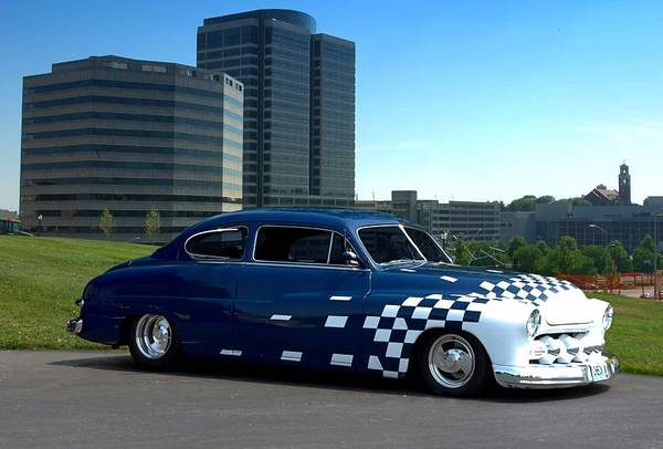 Photograph - 1949 Mercury Custom Street Rod by Tim McCullough