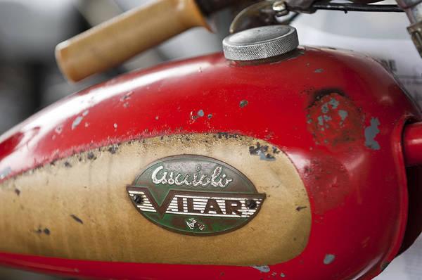 Photograph - 1950 Ducati Cucciolo Vilar Motorcycle by Jill Reger