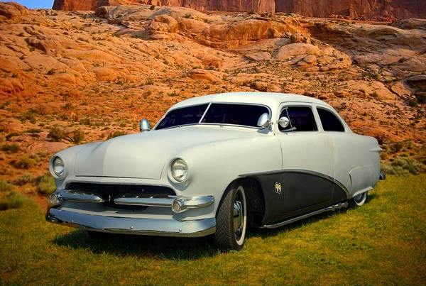 Photograph - 1950 Ford Low Rider Street Rod by Tim McCullough