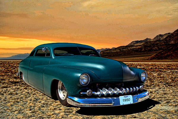 Photograph - 1950 Mercury Custom Low Rider by Tim McCullough