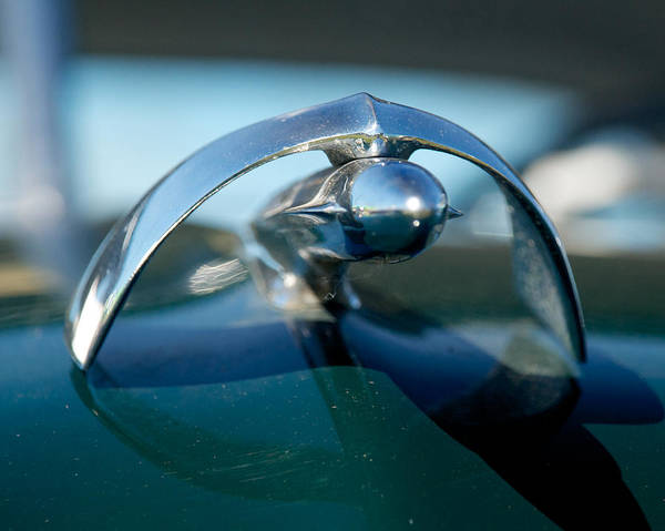Photograph - 1950 Mercury Hood Ornament by Mark Dodd