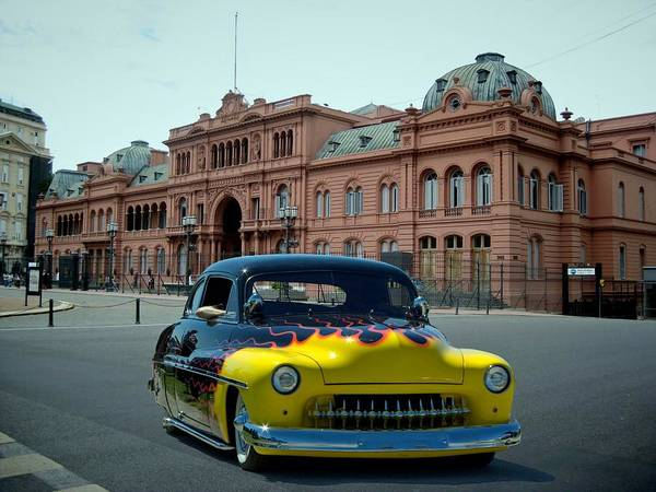 Photograph - 1950 Mercury La Cosa Rosada Argentina by Tim McCullough