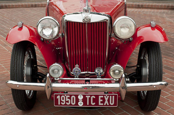 Tc Photograph - 1950 Mg Tc Sc Exu Midget Roadster by Jill Reger