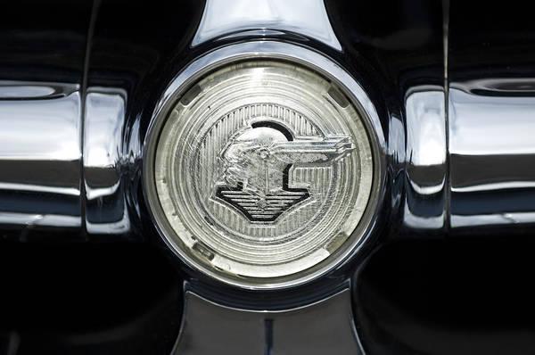 Photograph - 1950 Pontiac Grille Emblem 2 by Jill Reger