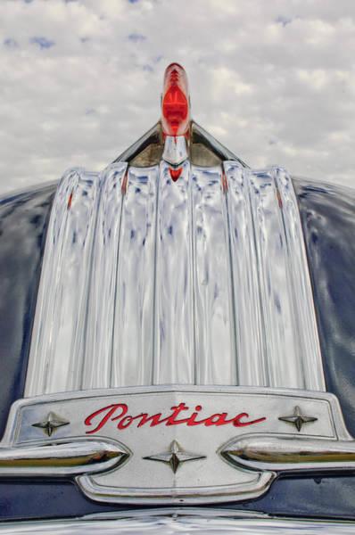 Photograph - 1950 Pontiac Hood Ornament by Jill Reger