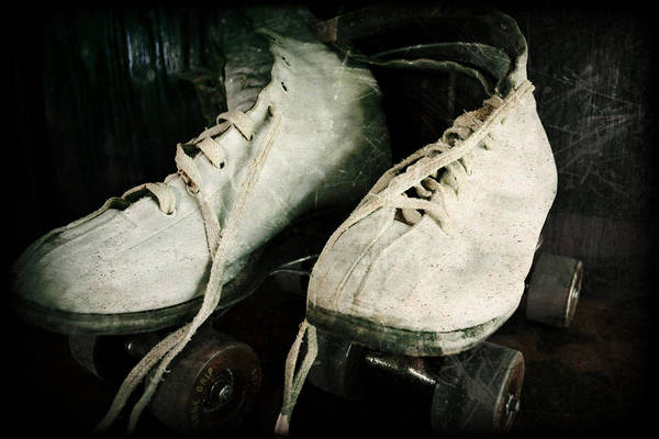 Photograph - 1950's Roller Skates by Michelle Calkins