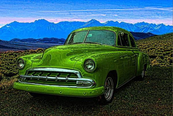 Photograph - 1951 Chevrolet Slime Green by Tim McCullough
