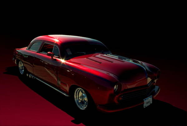 Photograph - 1951 Ford Custom Low Rider by Tim McCullough