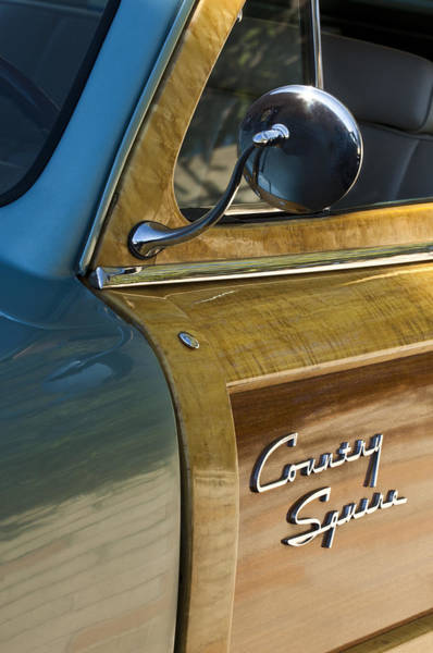 Photograph - 1951 Ford Woodie Country Sedan by Jill Reger