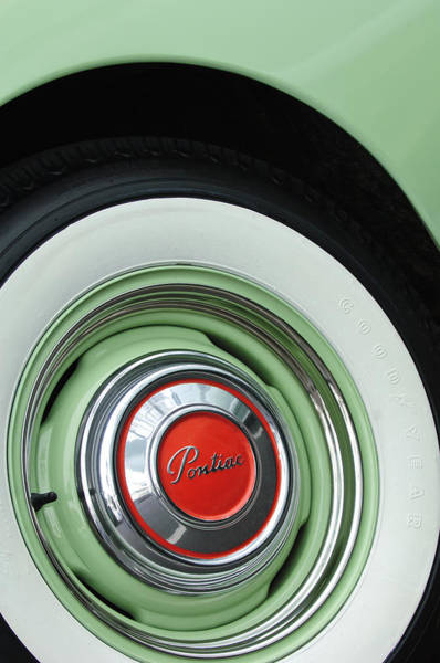 Photograph - 1951 Pontiac Streamliner Wheel 2 by Jill Reger