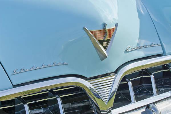 Photograph - 1952 Studebaker Hood Emblem by Jill Reger