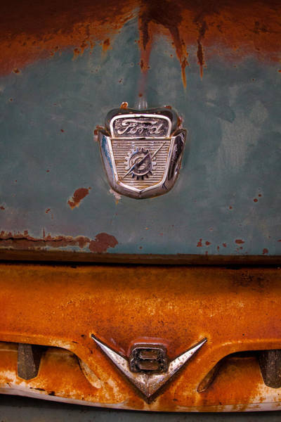 Photograph - 1953 Ford Dump Truck by David Patterson