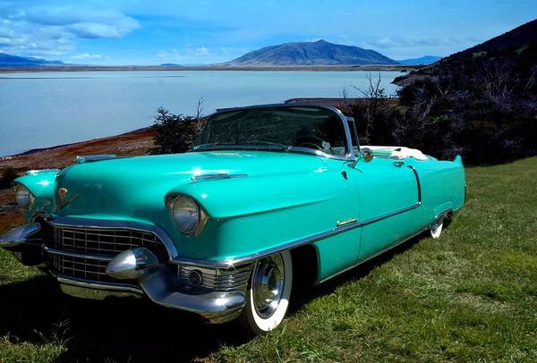 Photograph - 1954 Cadillac Convertible by Tim McCullough