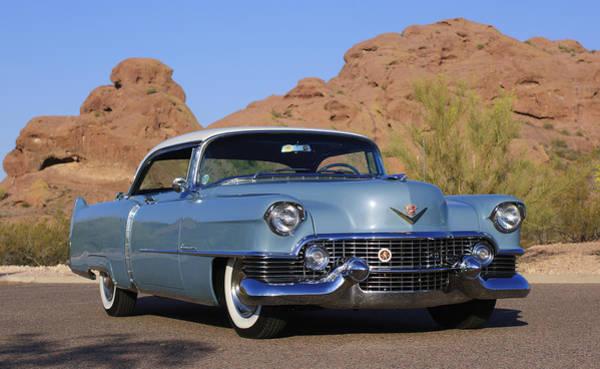 1954 Cadillac Coupe Deville Art Print
