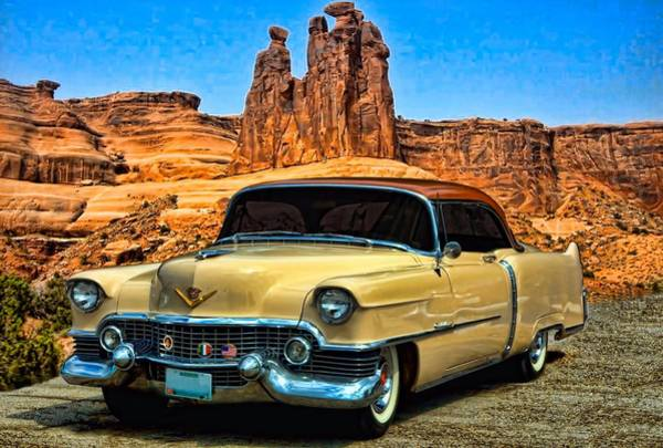 Photograph - 1954 Cadillac Coupe Deville by Tim McCullough