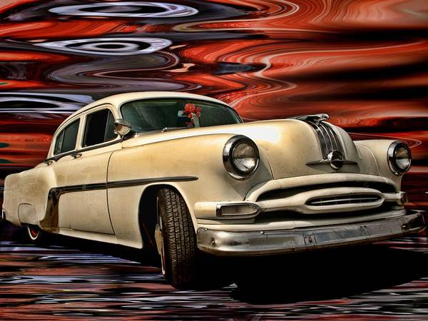 Photograph - 1954 Pontiac Chieftain Eight by Tim McCullough