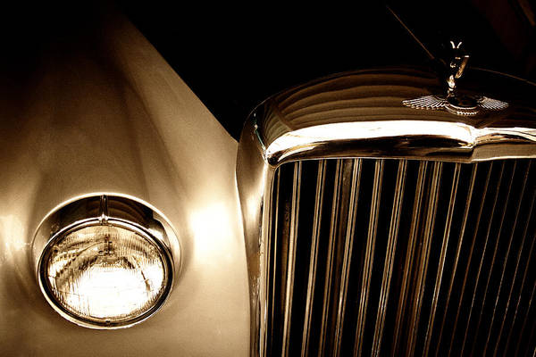 Photograph - 1956 Bentley S-1 by David Patterson