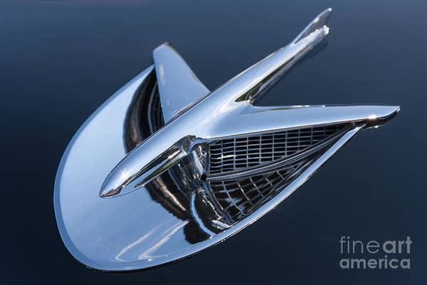 Photograph - 1956 Buick Special Hood Ornament by Clarence Holmes