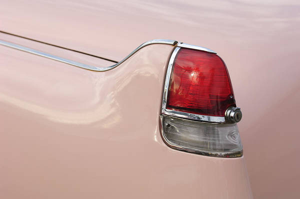 Photograph - 1956 Cadillac Taillight by Jill Reger