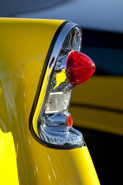 Photograph - 1956 Chevrolet Belair Taillight by Jill Reger