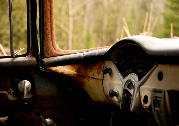 Wall Art - Photograph - 1956 Chevy Inside by Cale Best