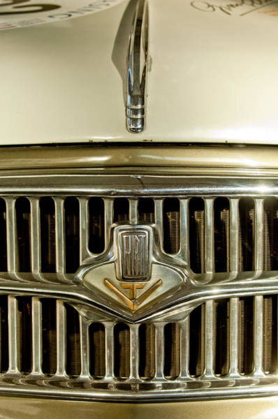 Photograph - 1956 Fiat 1100 Tv Hood Ornament by Jill Reger