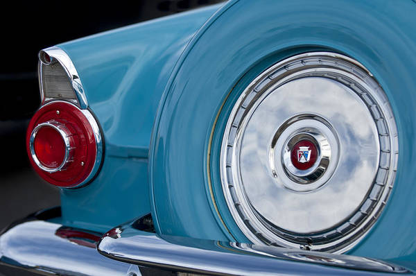 Photograph - 1956 Ford Thunderbird Taillight by Jill Reger