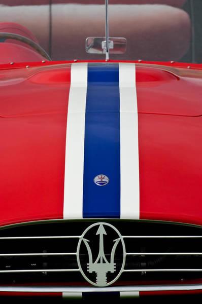 Photograph - 1956 Maserati 350 S by Jill Reger
