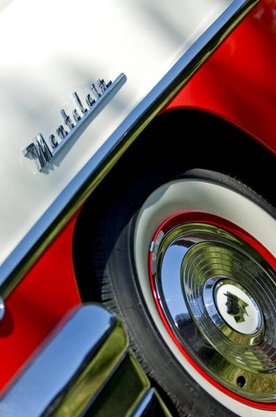 Photograph - 1956 Mercury Montclair Wheel Emblem by Jill Reger