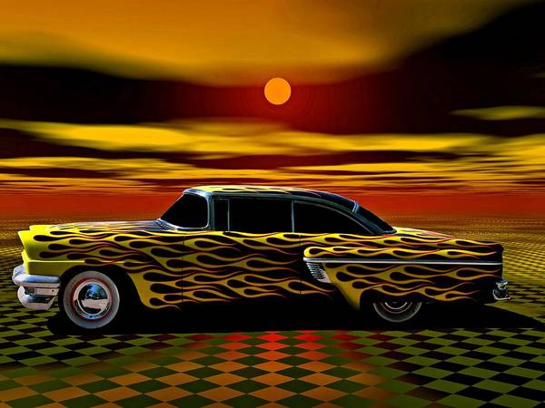 Photograph - 1956 Mercury Monteray Custom Street Rod by Tim McCullough