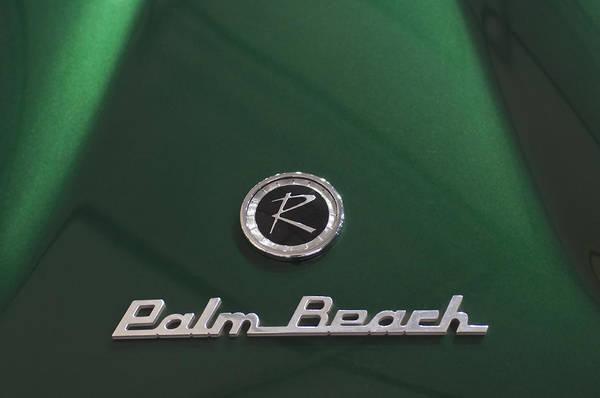 Photograph - 1956 Nash Rambler Coupe Speciale - Palm Beach Emblem by Jill Reger