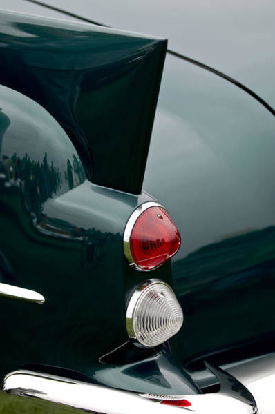 Photograph - 1957 Dual-ghia Convertible  Taillights by Jill Reger