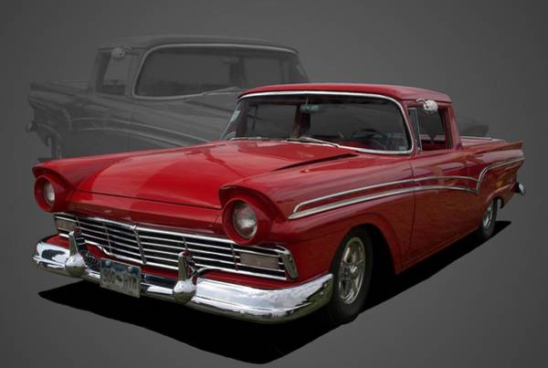 Photograph - 1957 Ford Ranchero Pickup Truck by Tim McCullough
