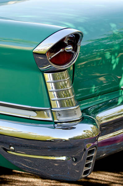 Photograph - 1957 Oldsmobile 98 Starfire Convertible Taillight by Jill Reger