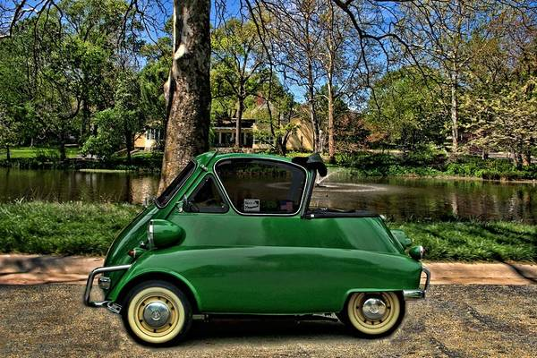 Photograph - 1958 Bmw Isetta 300 by Tim McCullough