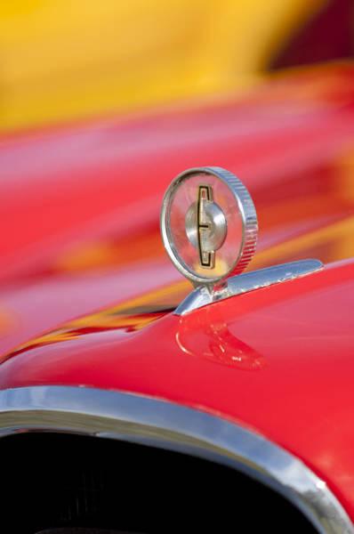 Photograph - 1958 Edsel Roundup Hood Ornament by Jill Reger