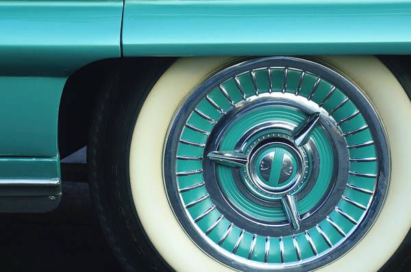 Photograph - 1958 Oldsmobile 98 Wheel by Jill Reger