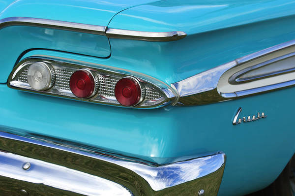 Corvair Photograph - 1959 Edsel Corvair Taillights by Jill Reger