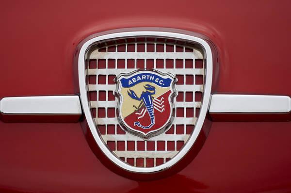 Photograph - 1959 Fiat Abarth 750 Zagato Coupe Emblem by Jill Reger