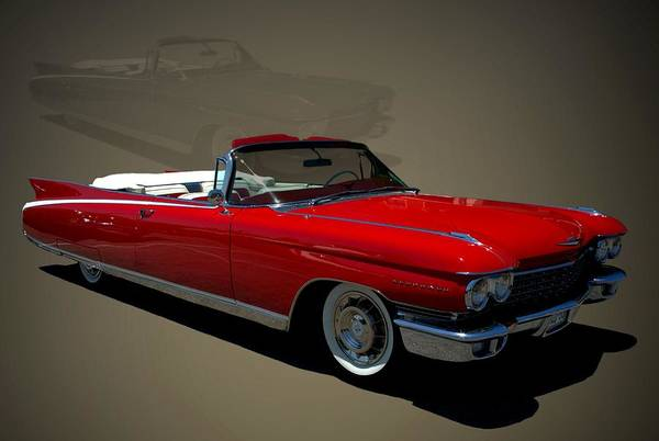 Photograph - 1960 Cadillac Eldorado Convertible by Tim McCullough