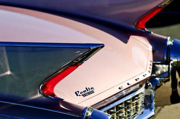 Photograph - 1960 Cadillac Eldorado Taillights by Jill Reger