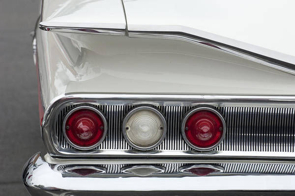 Photograph - 1960 Chevrolet Impala Tail Lights by Jill Reger