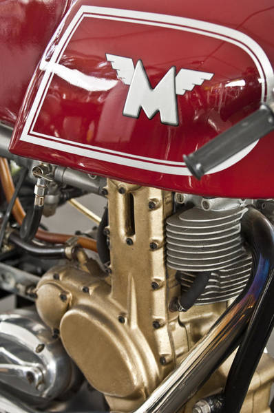 Photograph - 1960 Matchless G50 Motorcycle by Jill Reger