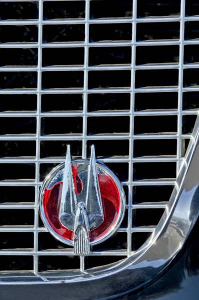 Photograph - 1960 Studebaker Hawk Coupe Emblem by Jill Reger