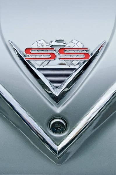 Photograph - 1961 Chevrolet Ss Impala Emblem by Jill Reger