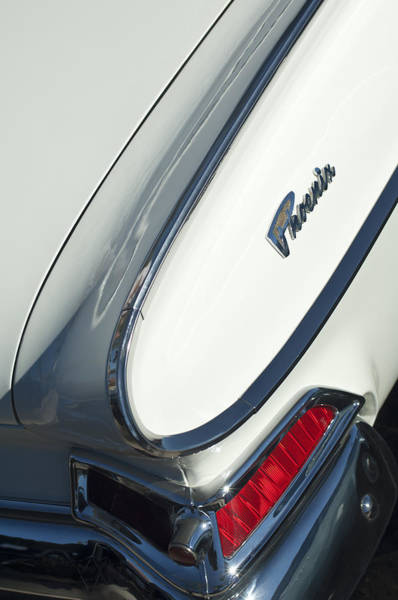 Photograph - 1961 Dodge Phoenix Taillight by Jill Reger