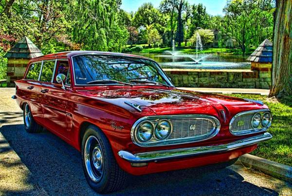 Photograph - 1961 Pontiac Tempest Station Wagon by Tim McCullough